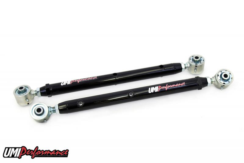 UMI Performance 3043-B 1978-1988 G-Body Double Adjustable Control Arms- w/ Roto-Joints Rear