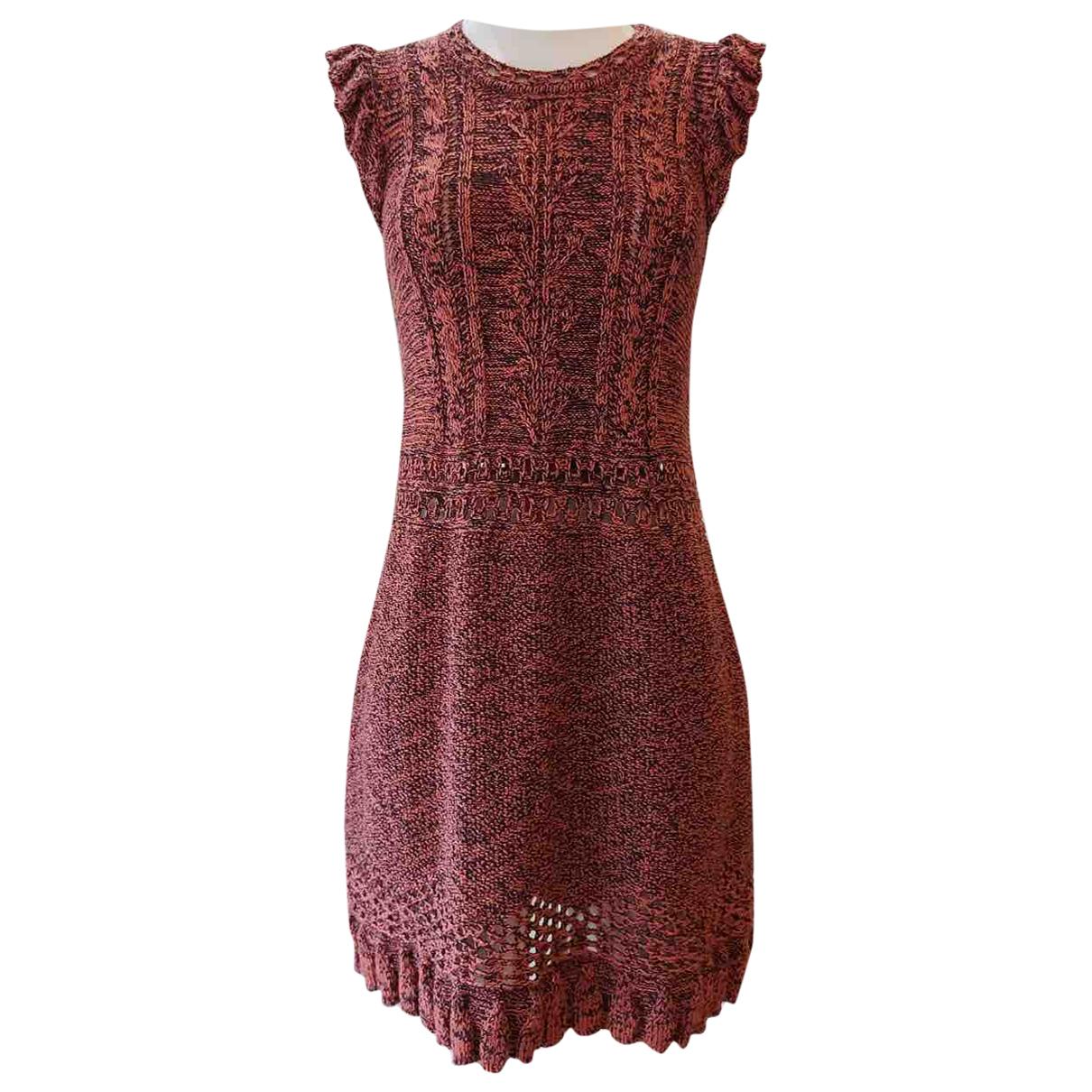 Missoni \N Kleid in  Rosa Spitze