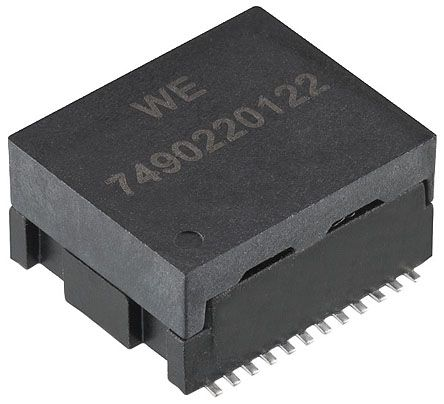 Wurth Elektronik 10/100/1000 1 Port LAN Transformer SMD