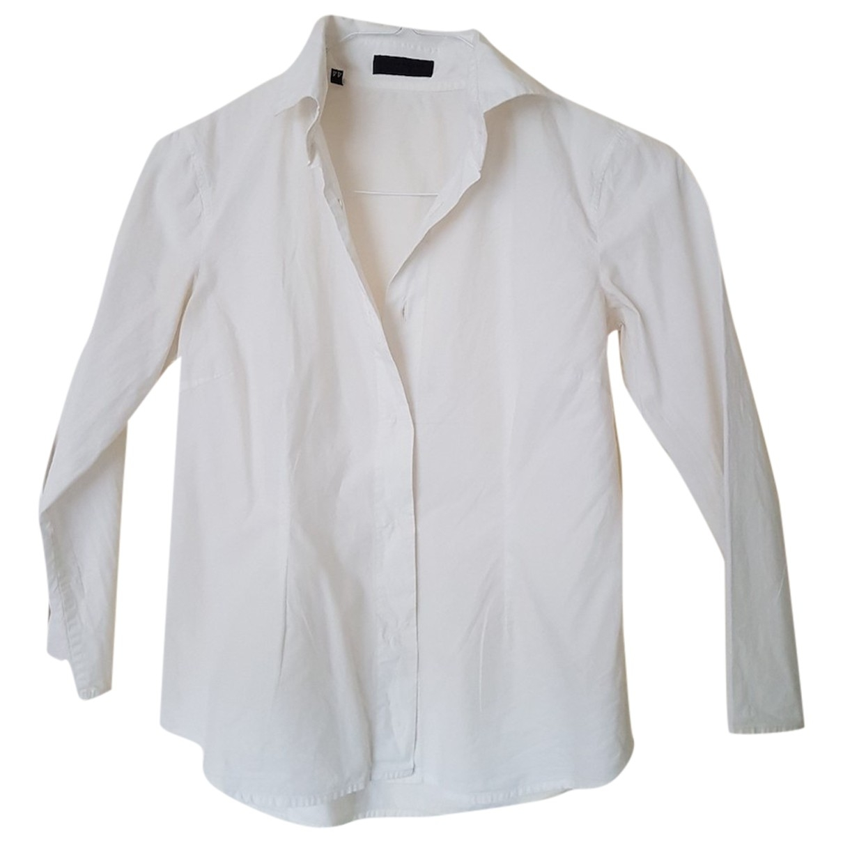 Costume National \N White Cotton  top for Women 44 IT
