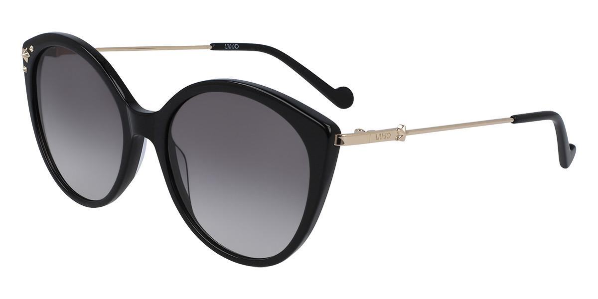 Liu Jo LJ735S 001 Women's Sunglasses Black Size 55