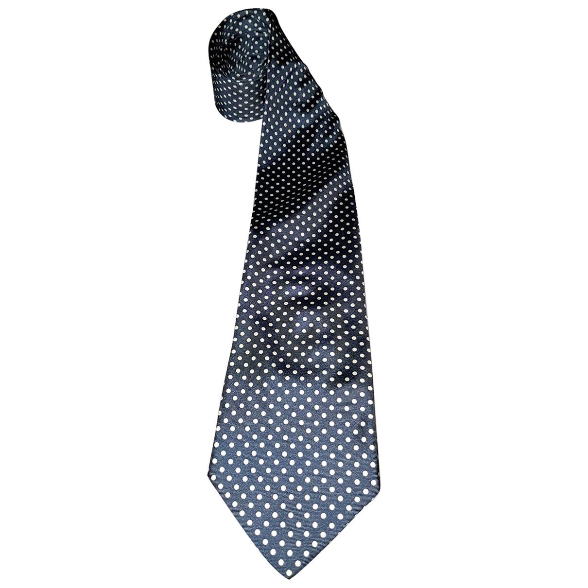 Emanuel Ungaro \N Blue Silk Ties for Men \N