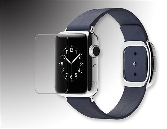 Angibabe 0.3mm 2.5D Ultral-thin Tempered Glass Screen Protector for iWatch 38mm