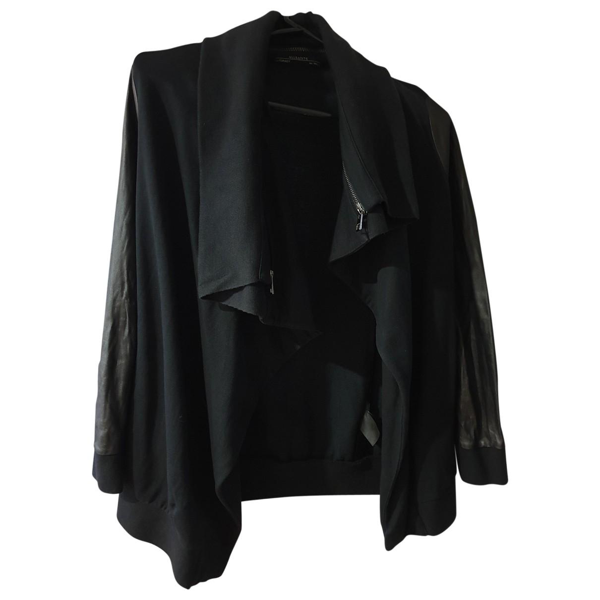 All Saints - Veste   pour femme en coton - noir