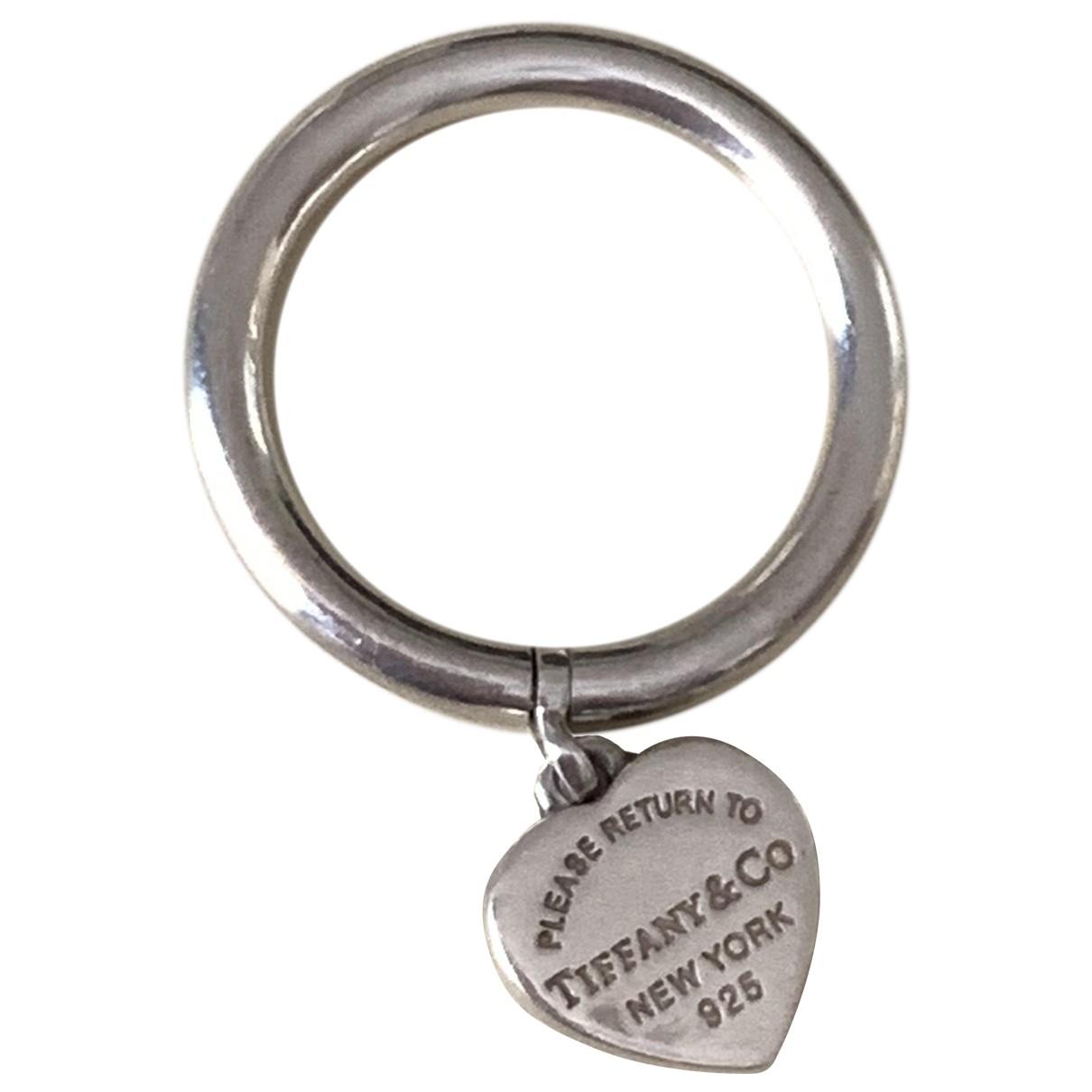 Tiffany & Co Return to Tiffany Silver Silver ring for Women 52 EU
