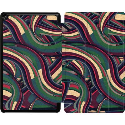 Amazon Fire HD 8 (2018) Tablet Smart Case - Swirl Madness von Danny Ivan