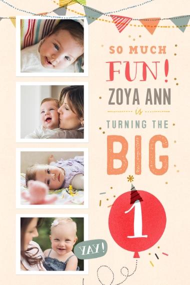 Baby + Kids 24x36 Poster , Home Décor -So Much Fun Turning One