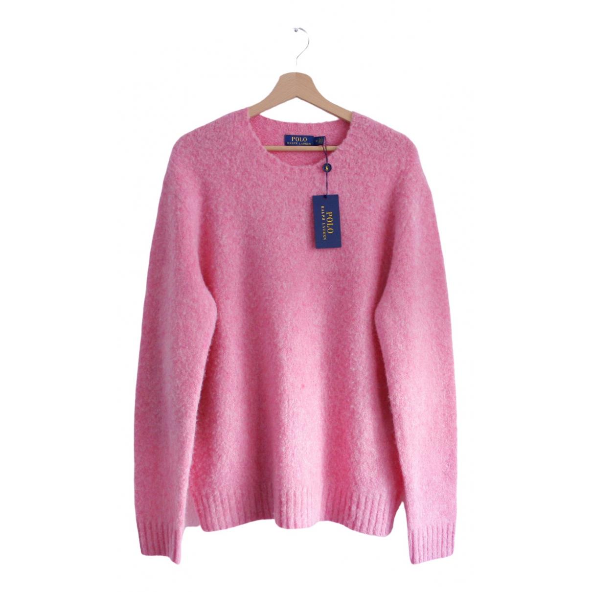 Polo Ralph Lauren - Pulls.Gilets.Sweats   pour homme en laine - rose
