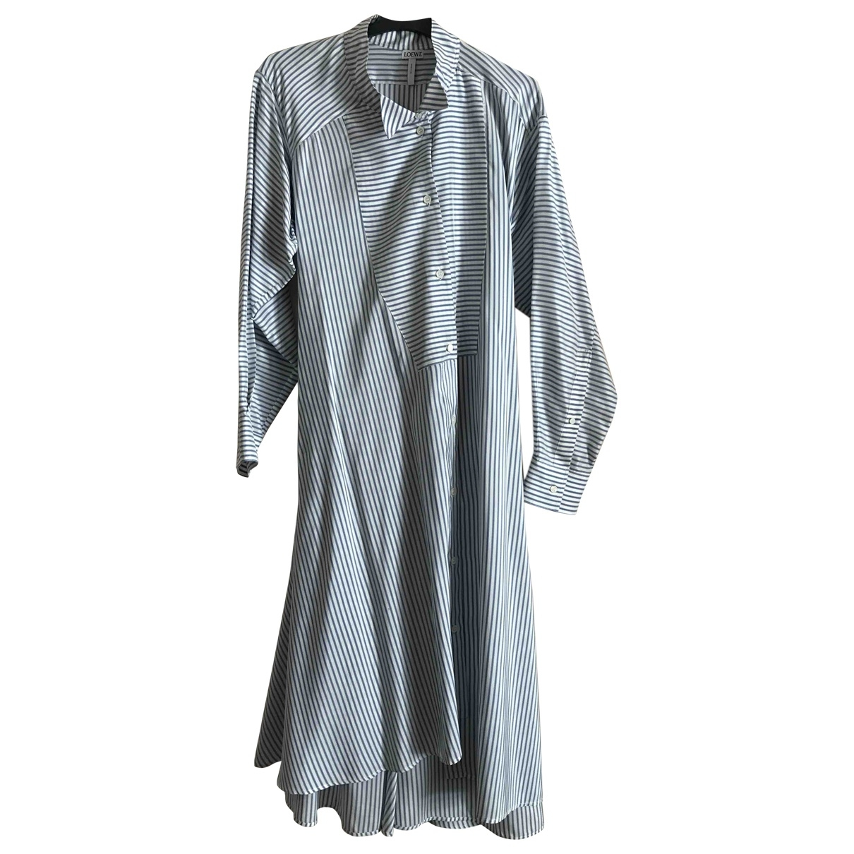 Loewe - Robe   pour femme en soie - blanc