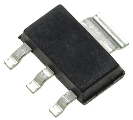 ON Semiconductor ON Semi SBCP53-16T1G PNP Transistor, 1.5 A, -80 V, 3 + Tab-Pin SOT-223 (1000)