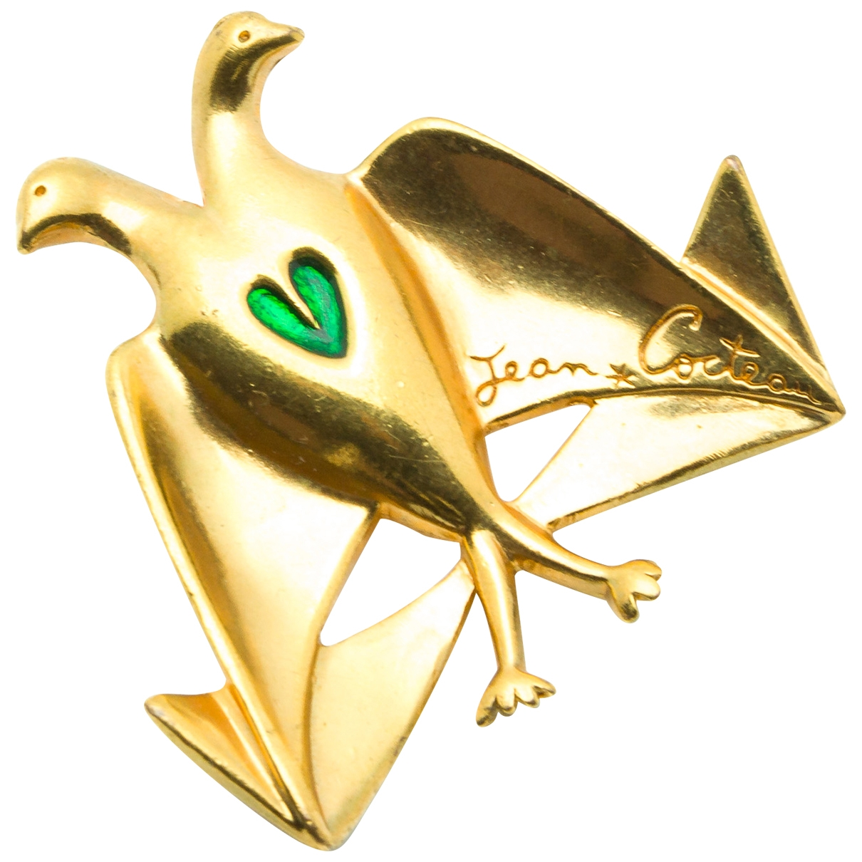 Jean Cocteau \N Gold Metal Pins & brooches for Women \N
