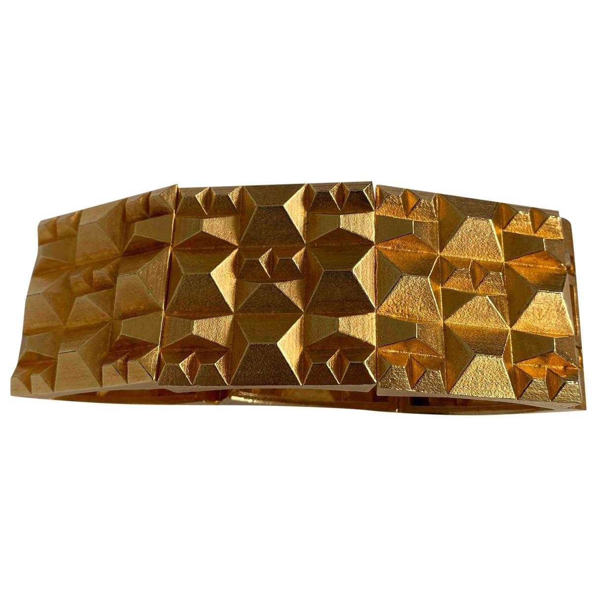 Lara Bohinc - Bracelet   pour femme en metal - dore