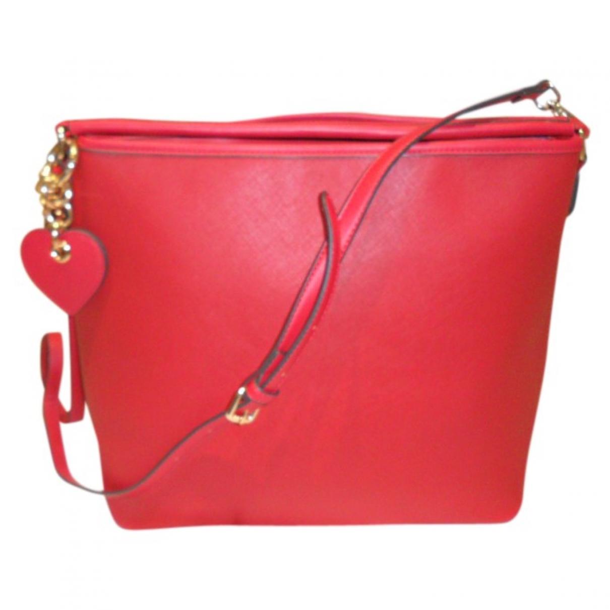 Blumarine \N Handtasche in  Rot Polyester