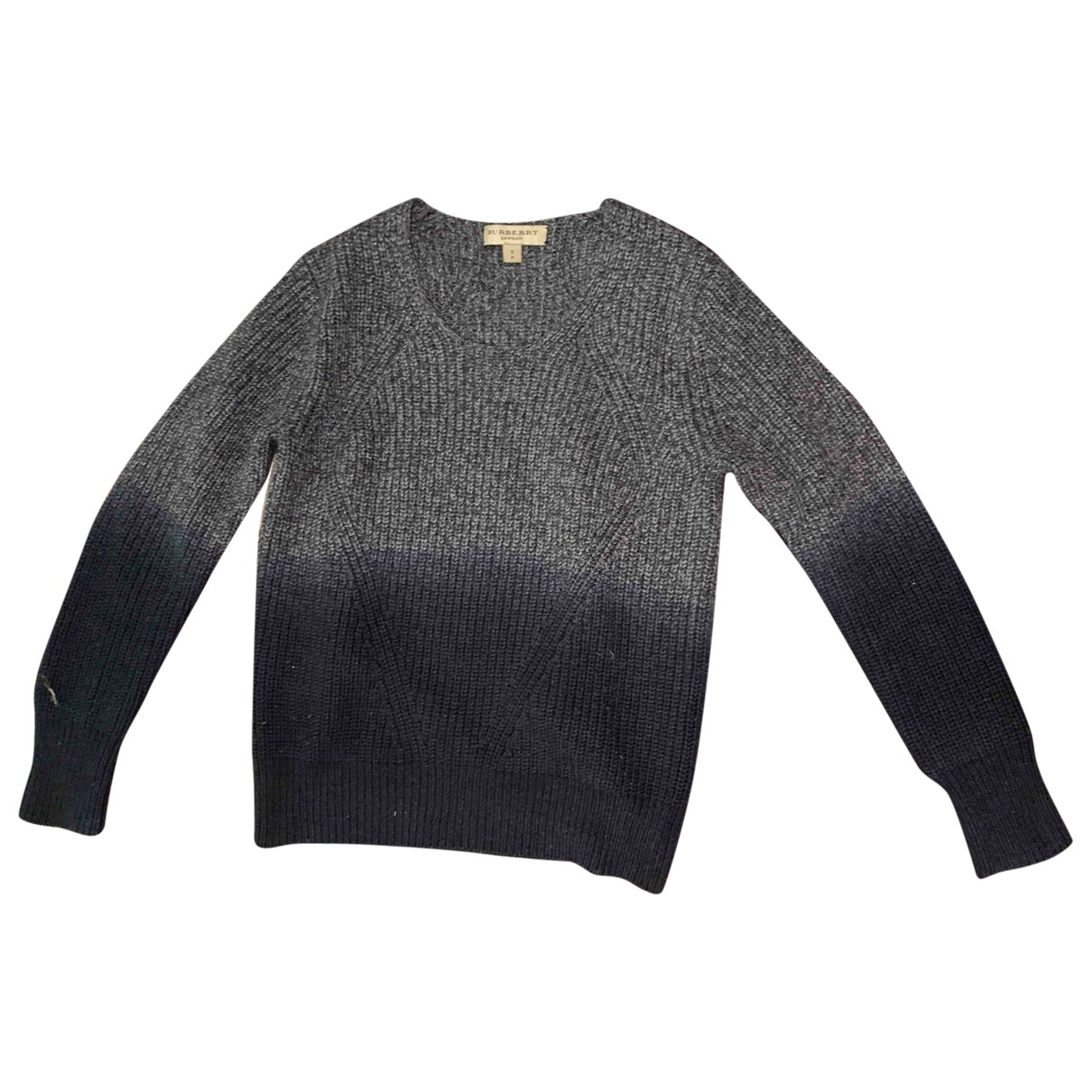 Burberry \N Navy Wool Knitwear for Women S International
