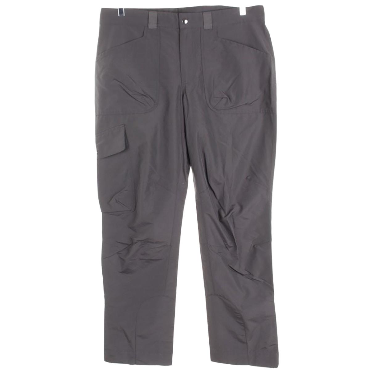 Woolrich \N Hose in  Grau Baumwolle