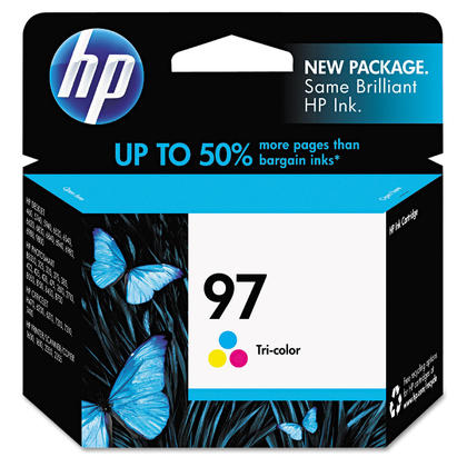 HP 97 C9363WN Original Tri-color Ink Cartridge