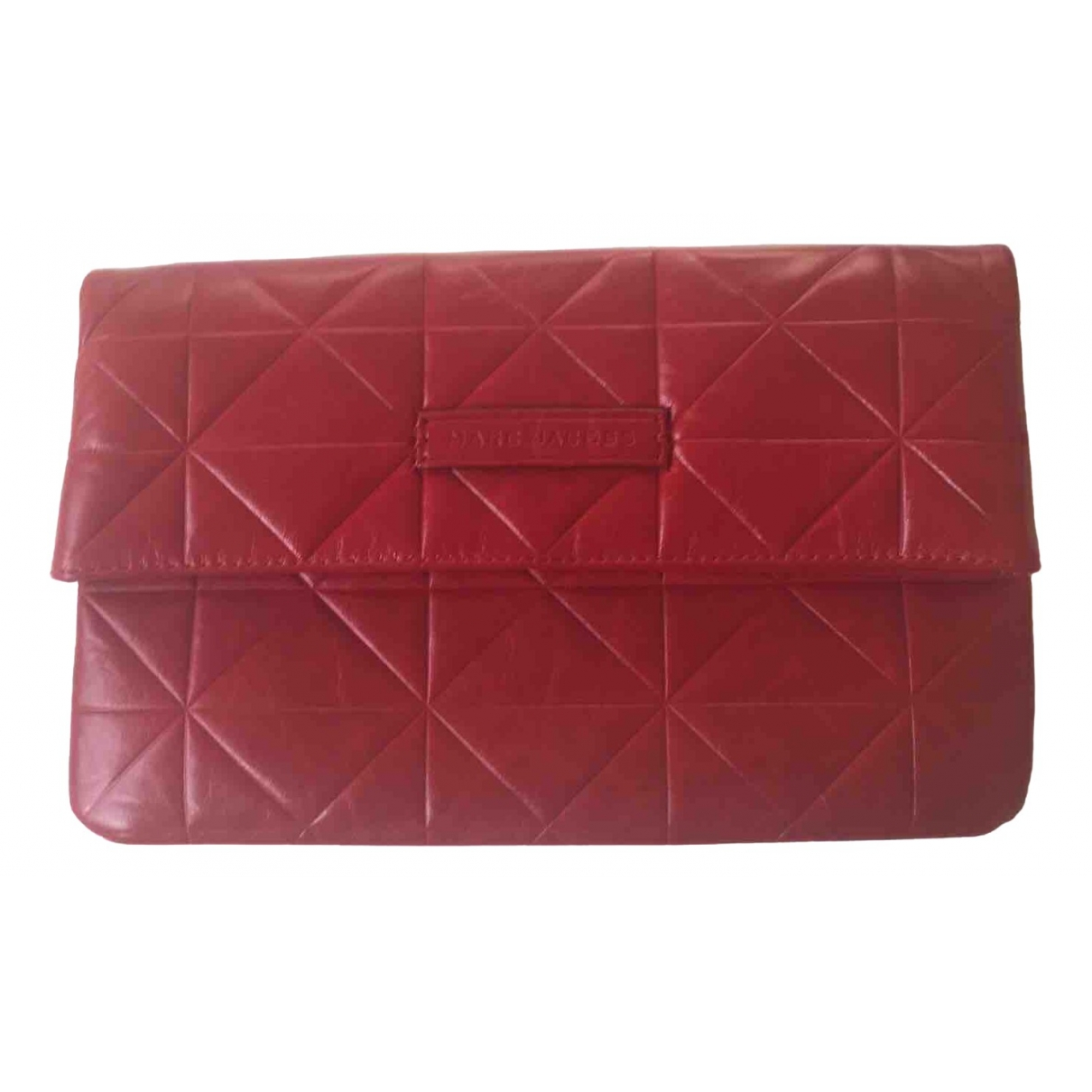 Marc Jacobs \N Red Leather Clutch bag for Women \N