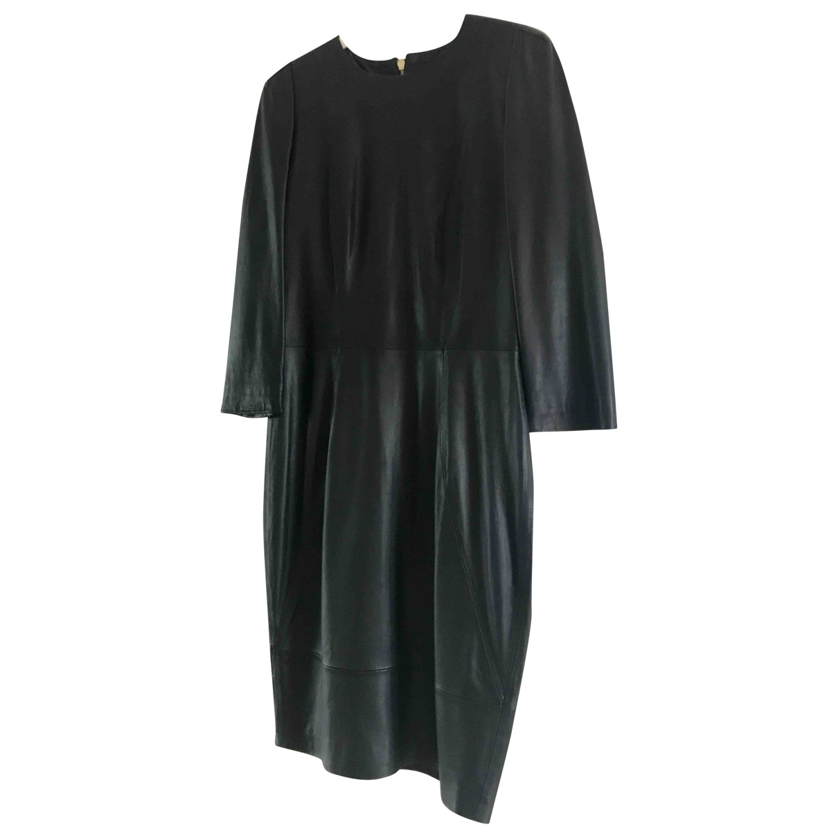 By Malene Birger \N Black Leather dress for Women M International