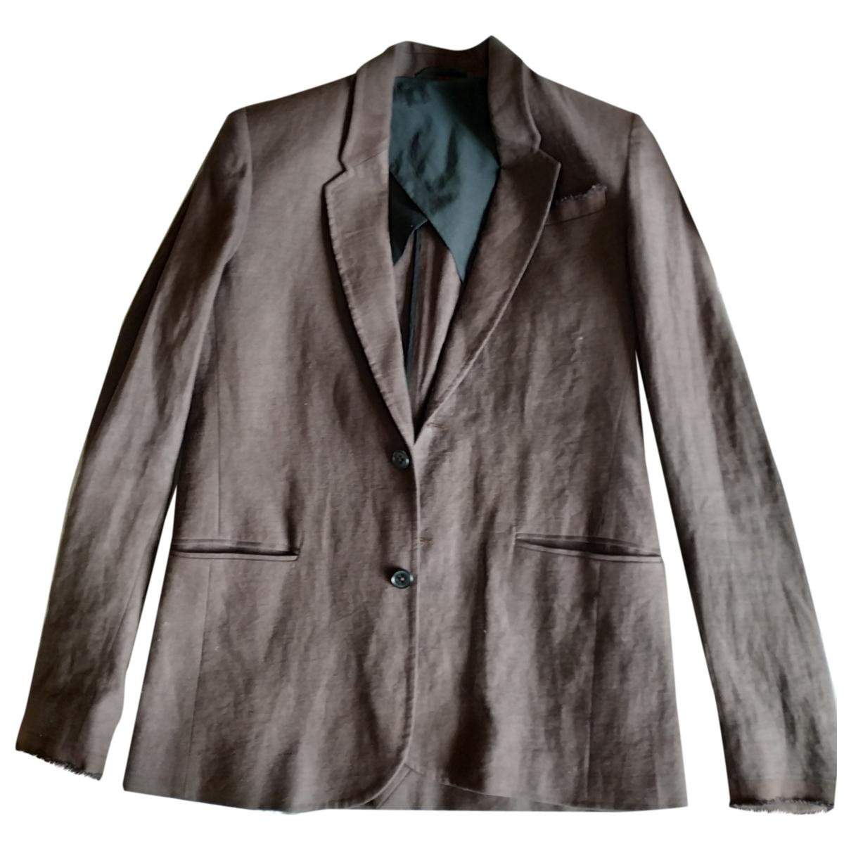 Damir Doma \N Brown Linen jacket  for Men S International