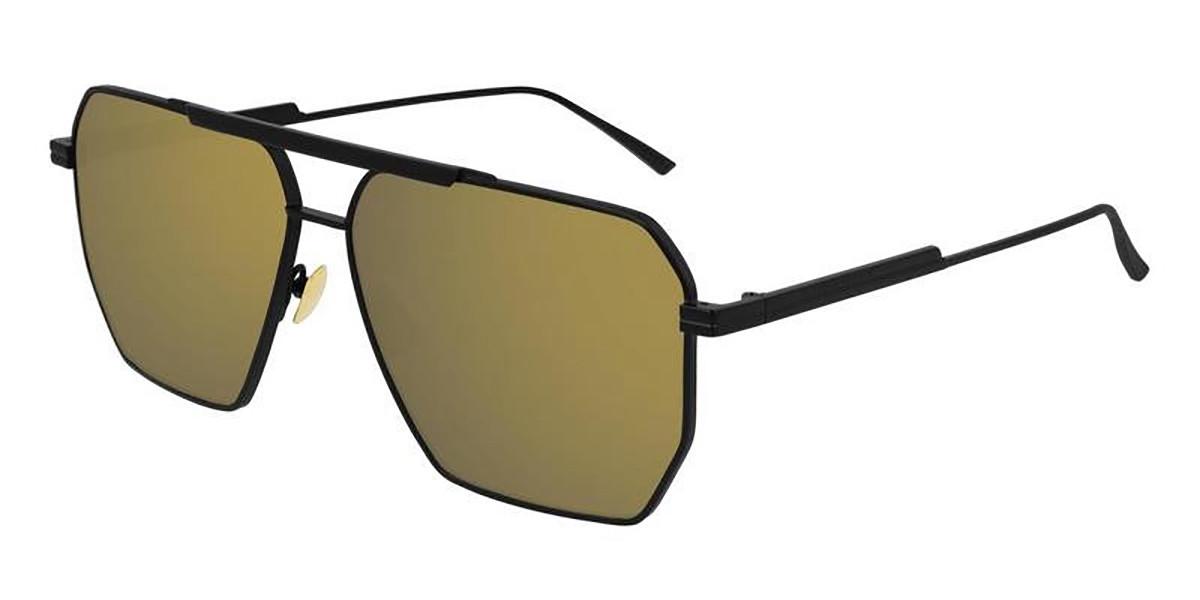 Bottega Veneta BV1012S 002 Men's Sunglasses Black Size 60
