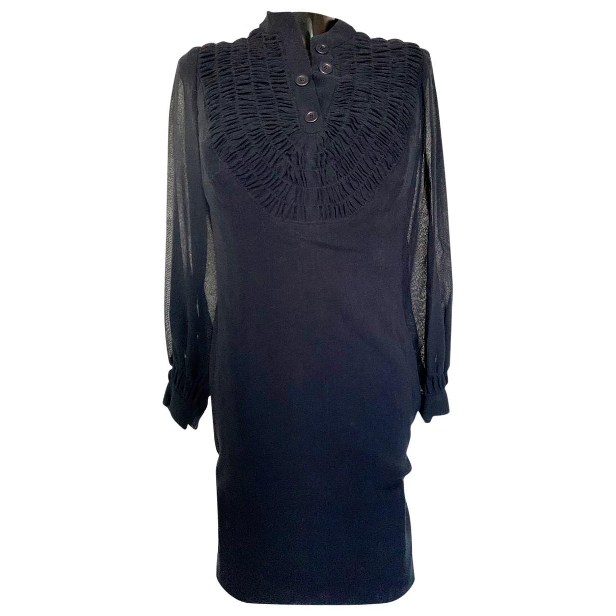 Pierre Balmain - Robe   pour femme en laine - bleu