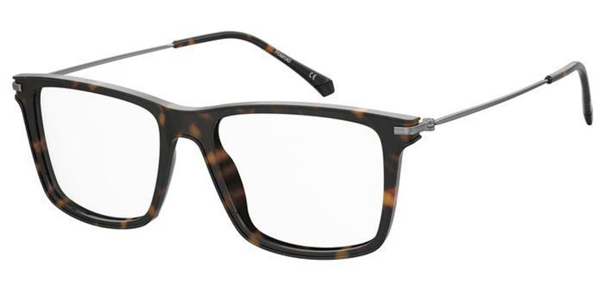 Polaroid PLD D414 086 Men's Glasses  Size 53 - Free Lenses - HSA/FSA Insurance - Blue Light Block Available