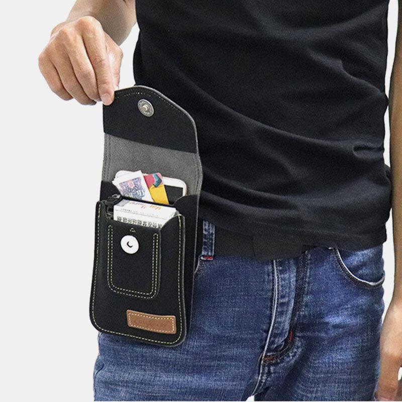 Men Casual 6.5 Inch Phone Bag Belt Bag