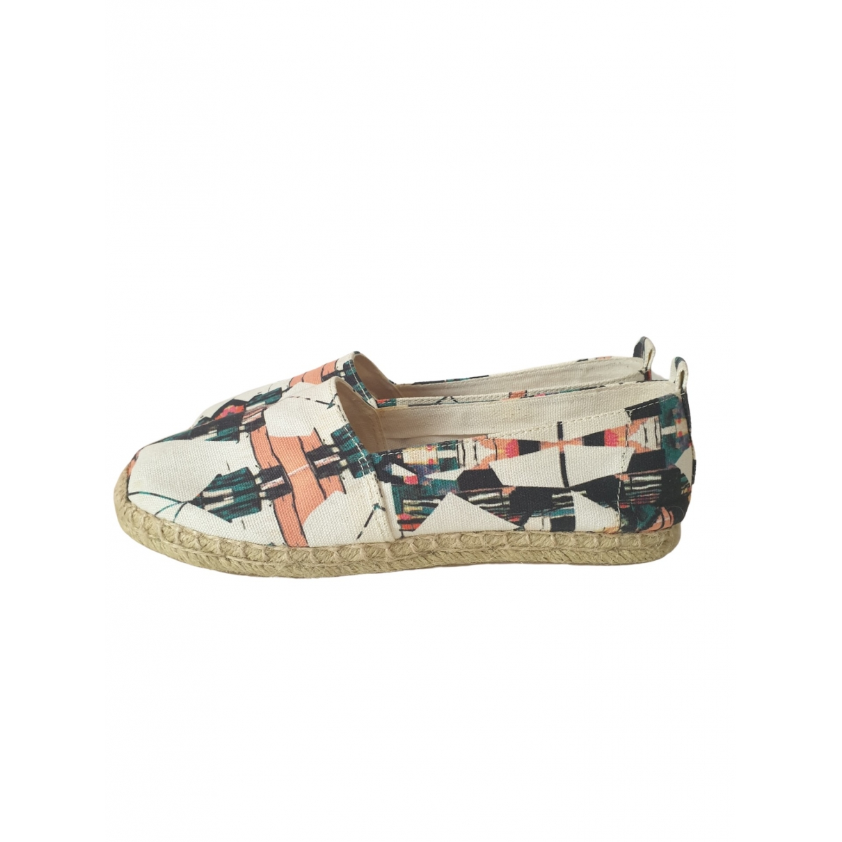 & Other Stories \N Espadrilles in  Bunt Leinen