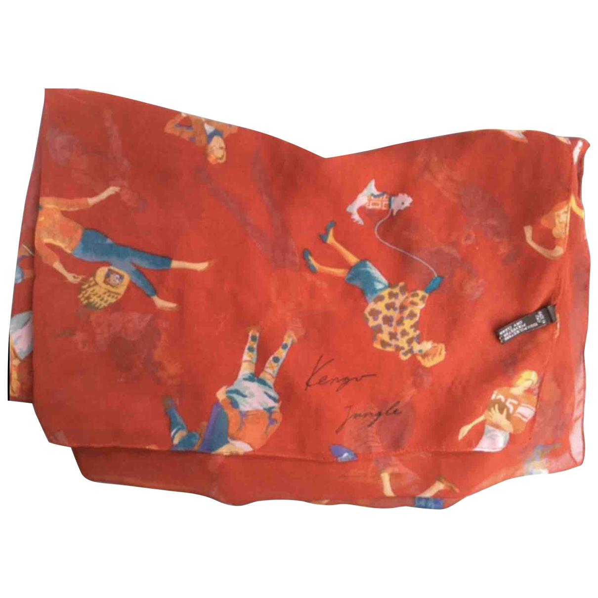 Kenzo - Foulard   pour femme - rouge