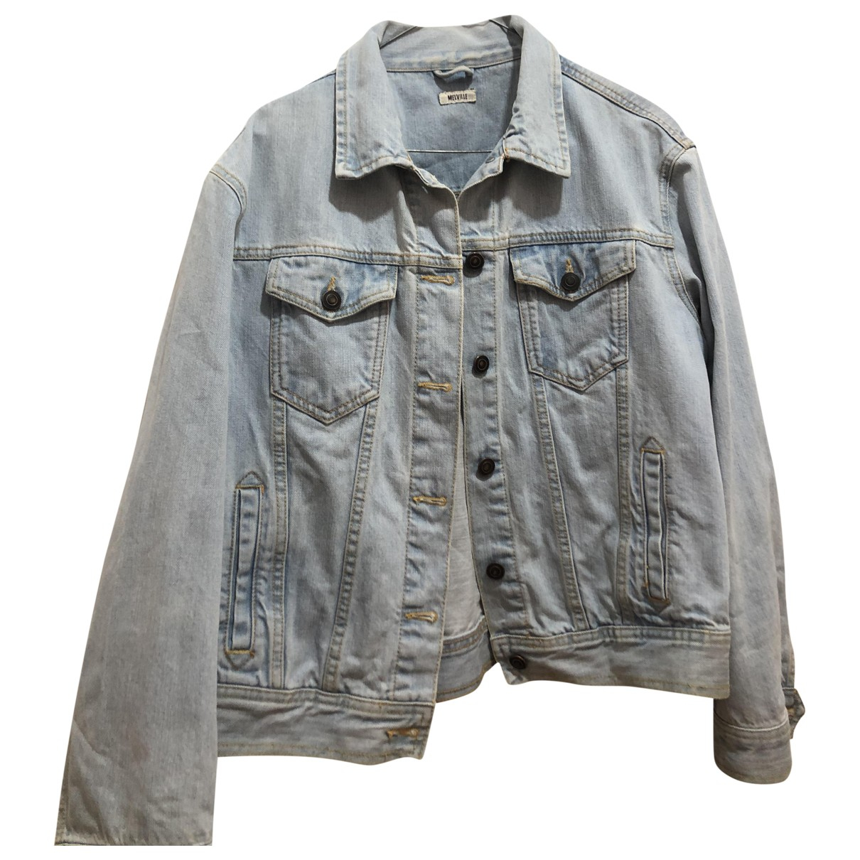 Brandy Melville N Blue Denim - Jeans jacket for Women M International