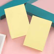 1pack Solid Sticky Note