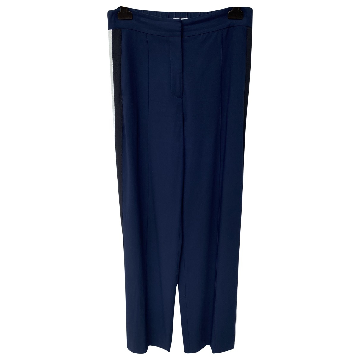 Veronica Beard \N Navy Trousers for Women 6 US