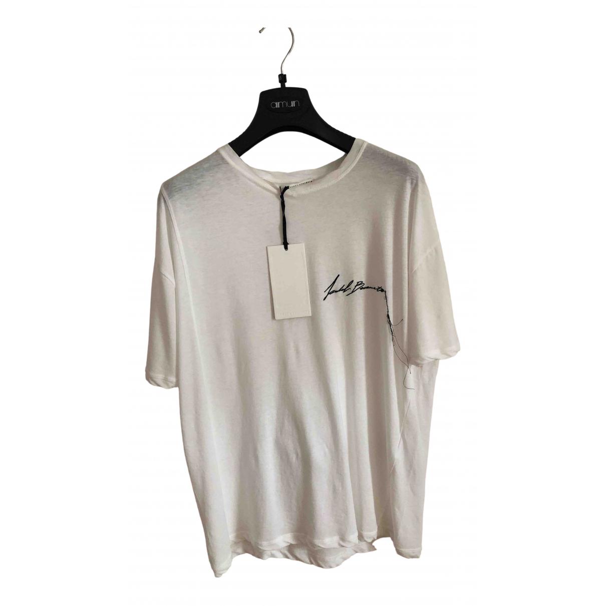 Isabel Benenato - Tee shirts   pour homme en coton - blanc