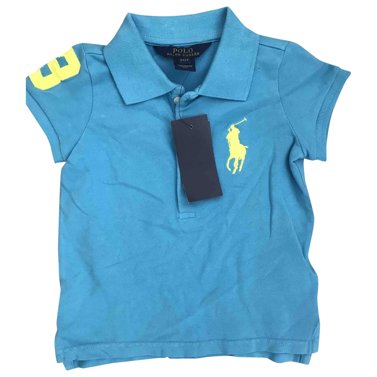 Polo Ralph Lauren \N Blue Cotton  top for Kids 2 years - until 34 inches UK
