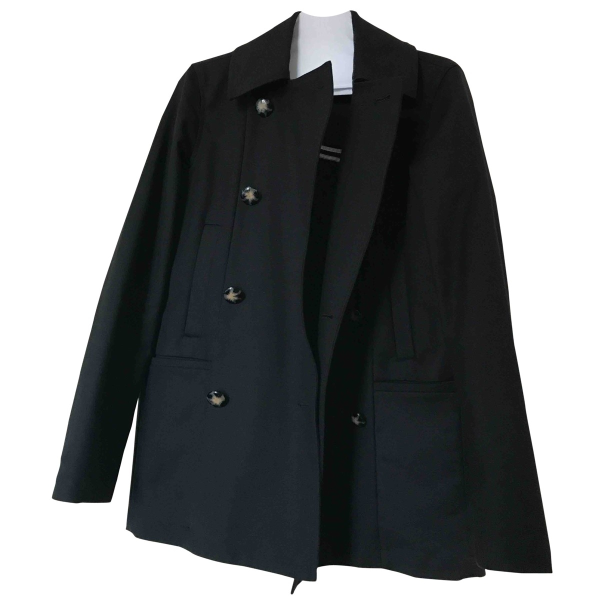 Hôtel Particulier \N Black Cotton coat for Women S International