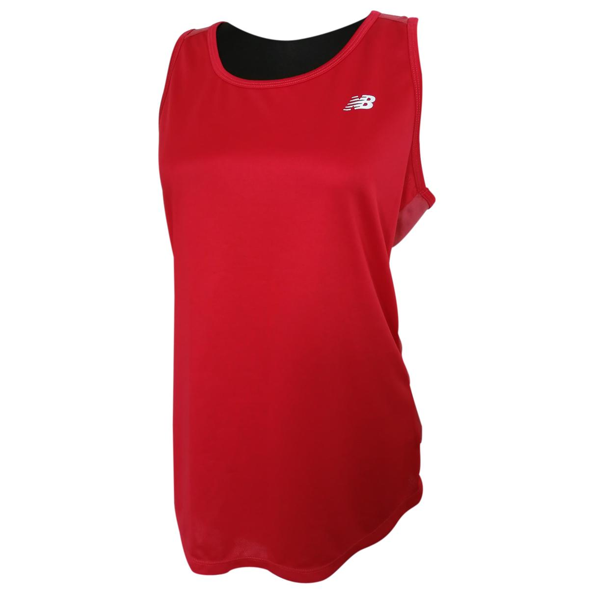 New Balance - Top   pour femme - rouge