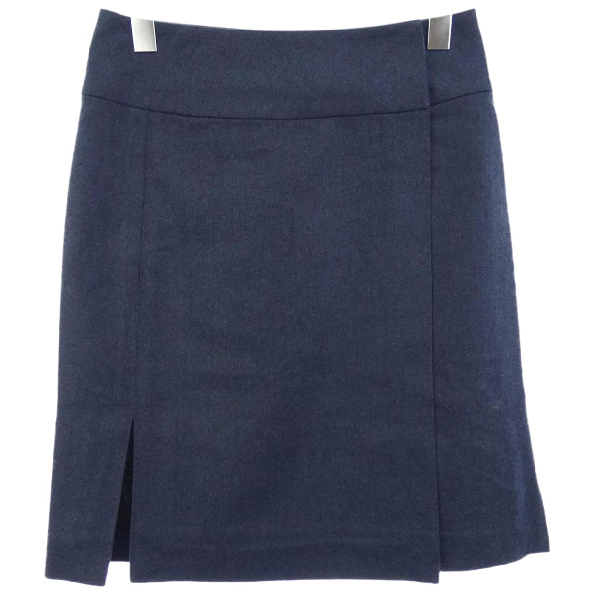 Hermes \N Rocke in  Blau Polyester