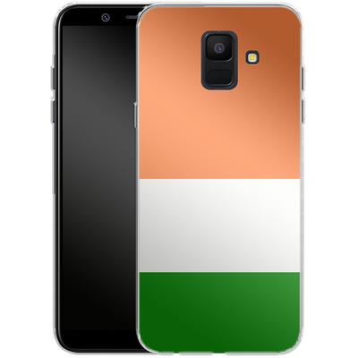 Samsung Galaxy A6 Silikon Handyhuelle - Ireland von caseable Designs