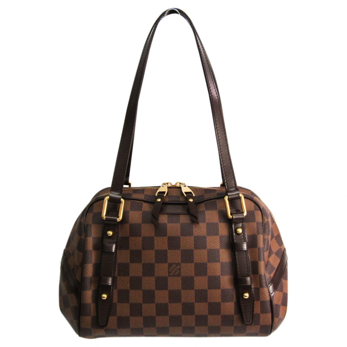 Louis Vuitton Rivington Brown Cloth handbag for Women N