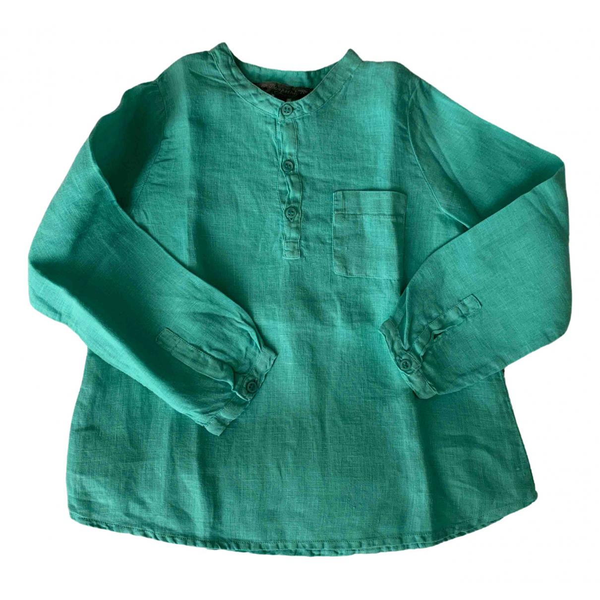 Camisa de Lino Bonpoint