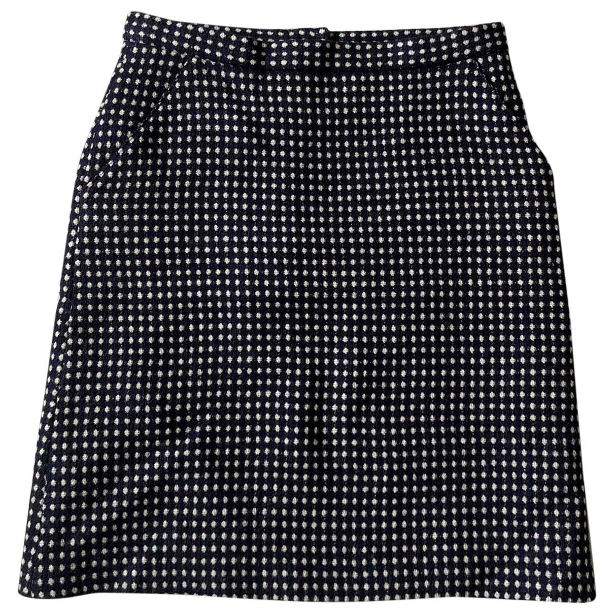 Paul & Joe - Jupe   pour femme en laine - marine