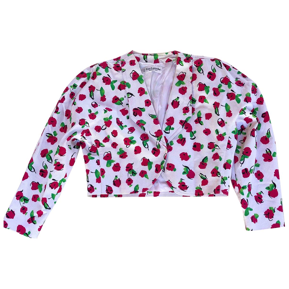 Guy Laroche - Veste   pour femme en coton - multicolore
