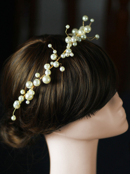 Milanoo Headpiece Wedding Headwear Earrings Hair Accessories For Bride