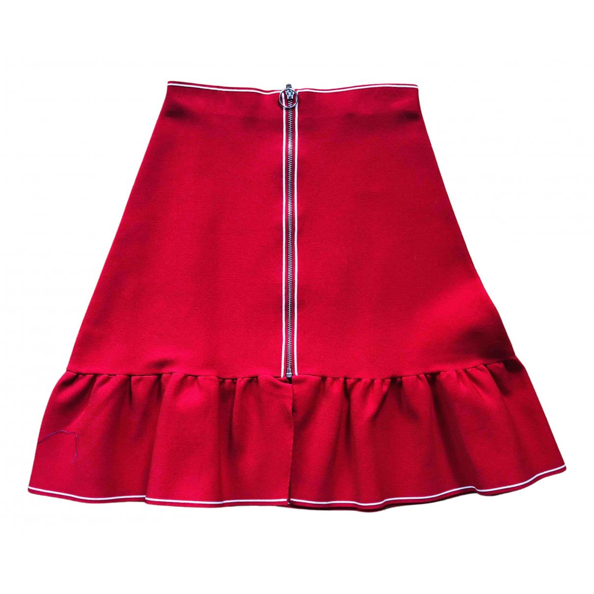 Sandro N Red skirt for Women 1 US