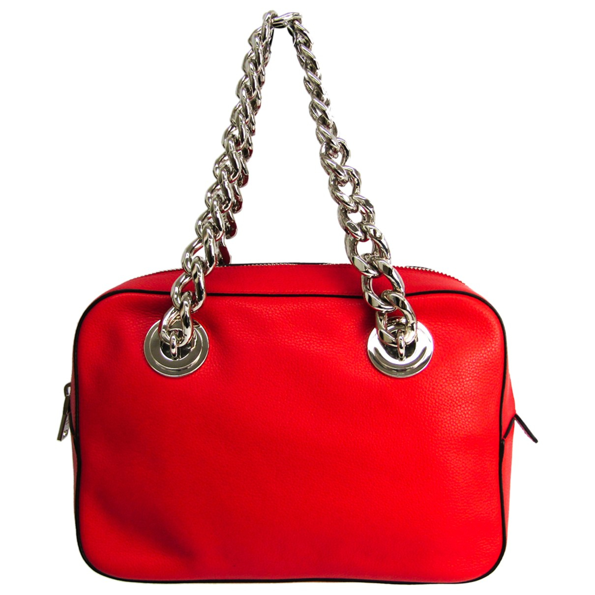 Prada N Red Leather handbag for Women N