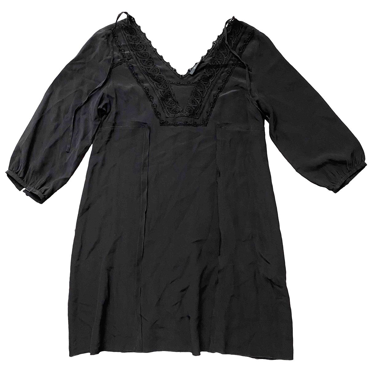 Bel Air \N Kleid in  Grau Seide