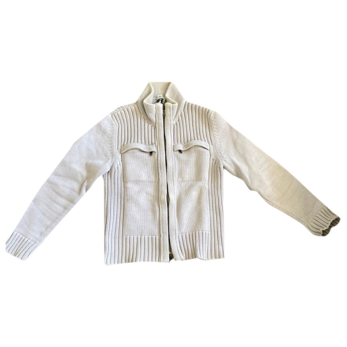 Yves Saint Laurent \N Pullover.Westen.Sweatshirts  in  Grau Baumwolle