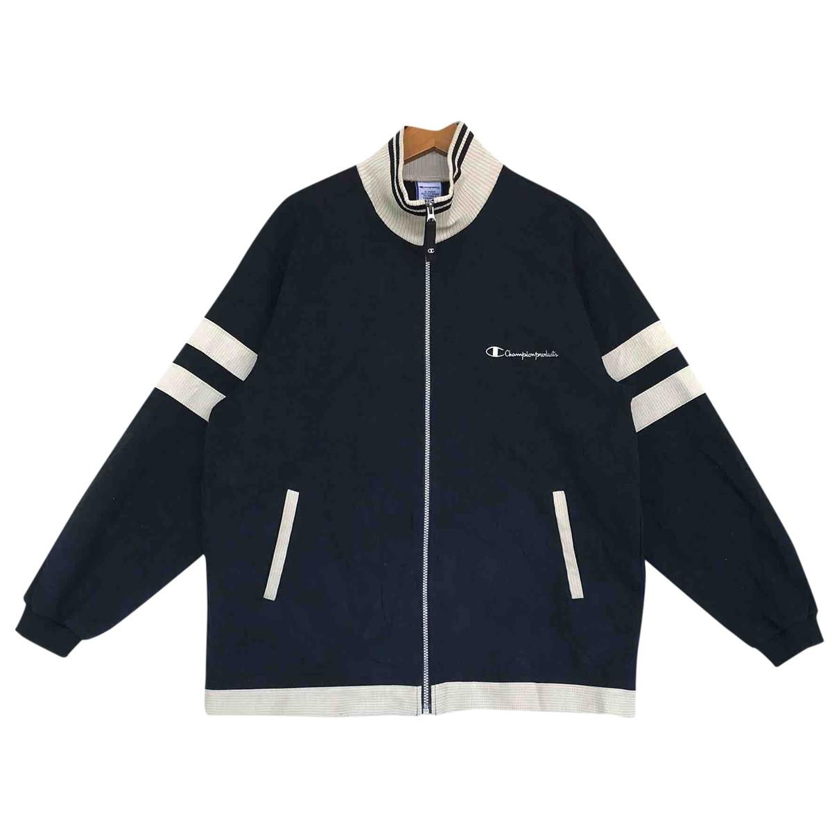 Champion \N Pullover.Westen.Sweatshirts  in  Schwarz Baumwolle