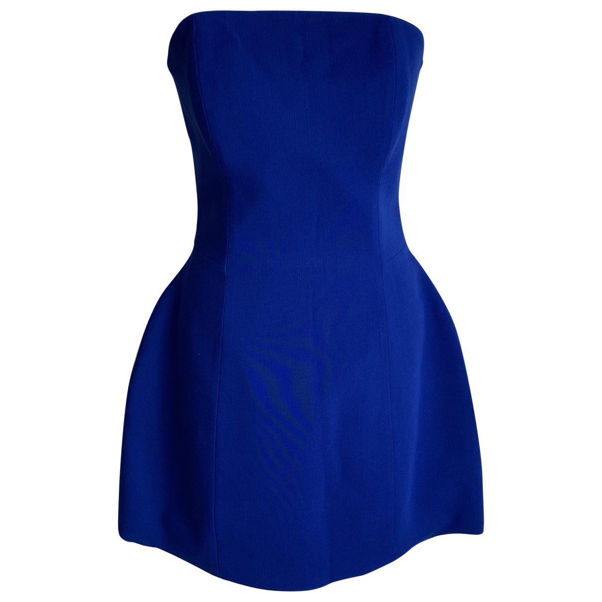 La Mania \N Blue Wool dress for Women 8 UK