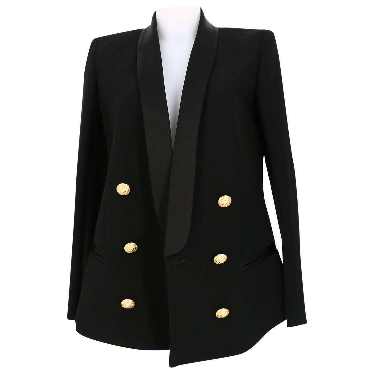 Balmain \N Black jacket for Women 40 FR